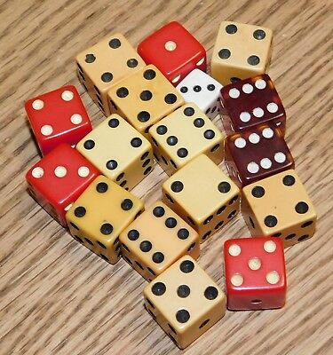 Vintage Lot of 8 Pair of Dice.