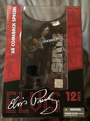 Elvis Presley '68 Comeback Special Figure 2004 McFarlane Toys sealed collectable