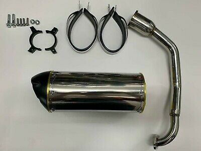 Scooter GY6 150cc High Performance Stainless Steel Free Flow Exhaust System