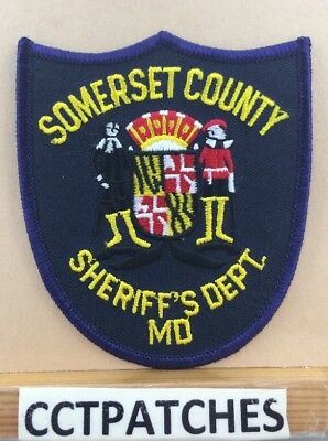 Somerset County, Maryland Sheriff (Police) Shoulder Patch Md