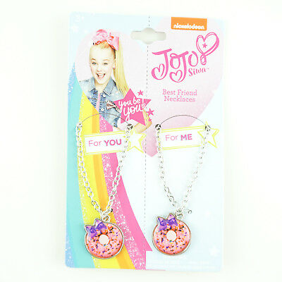 JoJo Siwa Matching Necklaces for Best Friends Sisters Girls
