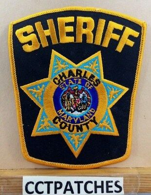Charles County, Maryland Sheriff (Police) Shoulder Patch Md