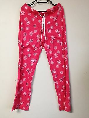 BNWT Country Road women ladies FL LIP PRNT PYJAMAS pants size S