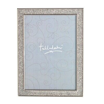Photo Frame Silver Glitter Hanging Picture Free Standing Family Photos Gift New