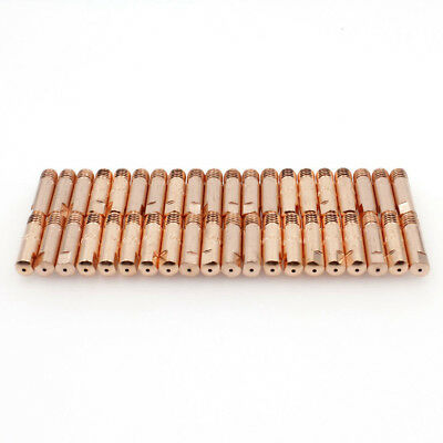 140.0253 MIG Welding Contact Tips M6 x 25mm x 1.0mm for Binzel MB 15AK Torch