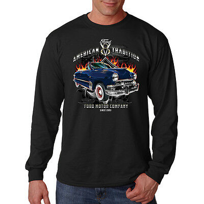 American Tradition Ford Motor Company Since 1903 Car Long Sleeve T-Shirt Tee