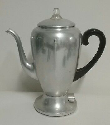 Vintage Mirro-Matic Percolator 8 Cup Model 102M tested and worked