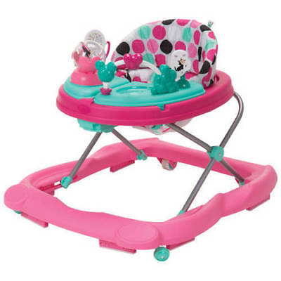 Disney Baby Music & Lights Walker with Activity Tray, Minnie Dotty