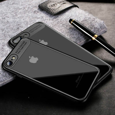 Hybrid Shockproof Clear Ultra Thin Slim TPU+PC Case Cover For iPhone 6S 7 7 Plus
