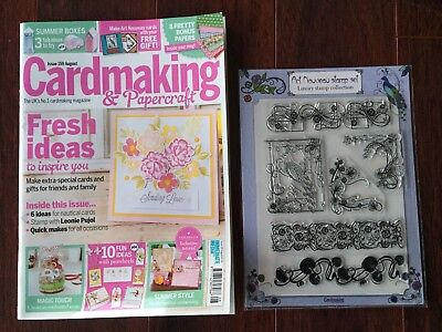 Cardmaking & Papercraft Magazine  with Peacock Gift, Issue 159