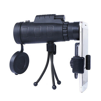 High Power 40X60 HD Monocular Telescope Shimmer Night Vision Outdoor Hiking