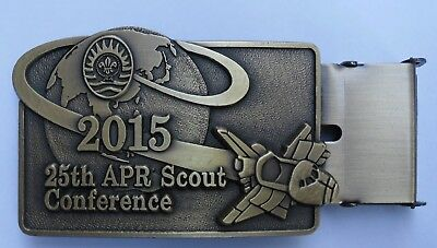 2015 25th APR Scout Conference BUCKLE / 2019 world scout jamboree
