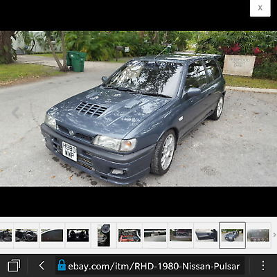 1980 Nissan GT-R cloth Nissan Pulsar GTI R probably the only for sale in Usa