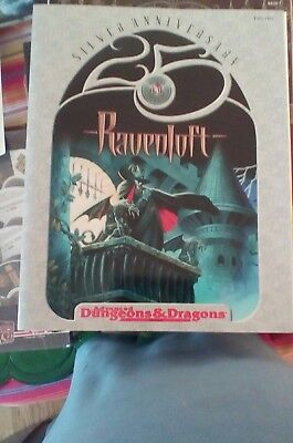Ravenloft Gen Con Silver edition RPGA DUNGEONS & DRAGONS AD&D new! Signed!