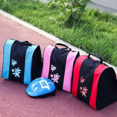 Capacity Durable Ice Skates Roller Carry Holder Storage Zipper Bag Gift Reliable