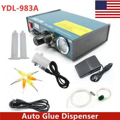 YDL-983A Solder Paste Glue Dispenser Dropper Liquid Auto Dispenser ControllerNEW