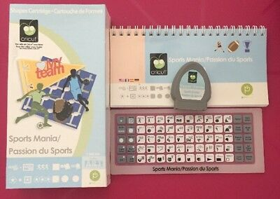 "Cricut Cartridge ""SPORTS MANIA""  Good Condition. ***buy 5 Get 1 Free!!!***"