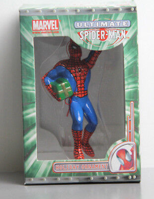 Ultimate Spider-Man Christmas Tree Ornament Kurt S Adler 2002 Marvel Comics NEW