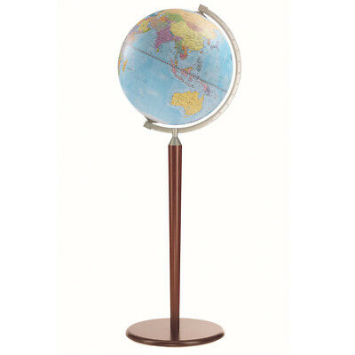 NEW Zoffoli Vasco Da Gama Political Globe Blue 40cm