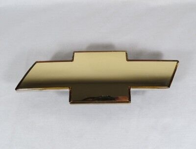 99-02 CHEVY SILVERADO GRILLE EMBLEM NEW FRONT GRILL GOLD BADGE sign symbol logo