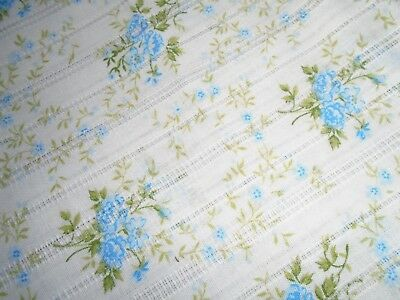 Vintage Dimity Fabric, with Soft Floral Print