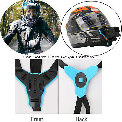 For Gopro Hero 6/5/4 Action Camera Motorcycle Full Face Helmet Front Chin Mount