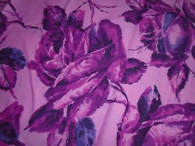 True Vintage Fabric, Cotton Fabric 36 inches, Roses