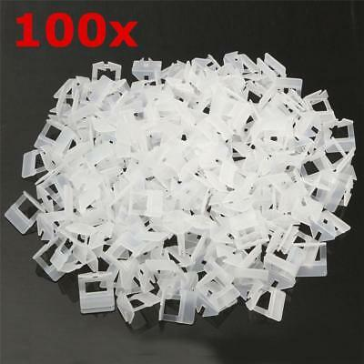 1.5/2.0MM 100Pcs Wedge Tile Leveling System Clips Wall Floor Spacer Tiling Tool