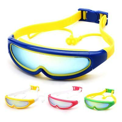 44677dbadfa Children Kids Boys Girls Large Frame Swimming Goggles Masks Glasses with  Earbuds