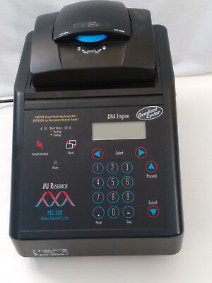 MJ Research PTC-200 Peltier Thermal Cycler with 384 Well Alpha Block