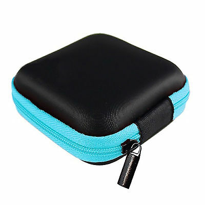 Portable Storage Bag Carrying Case For Earphone Headphone Earbud Headset SD Card