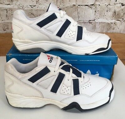10154d371062e Vintage 1995 Adidas Torsion Interval Trainers Uk 11 Eu 46 OG Rare Deadstock  BNIB