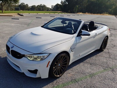 2015 BMW M4 Convertible 2-Door 2015 BMW M4 CONVERTIBLE, ONLY 34K MI, DON'T MISS!