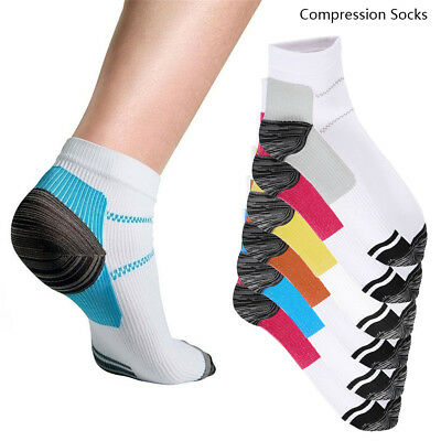 12pcs Plantar Fasciitis Compression Socks Heel Foot Arch Pain Relief Support