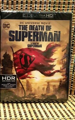 The Death of Superman 4K (2-Disc Blu-ray, 2018).DC/Doomsday