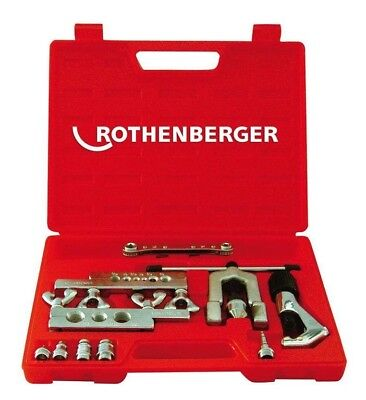 Rothenberger FLARING & SWAGING SET WITH RATCHET WRENCH Carry Case *German Brand