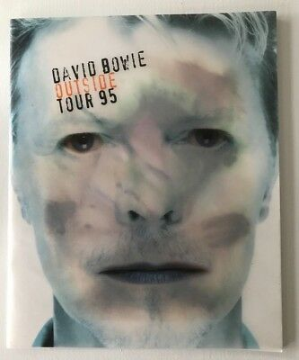 Rare - David Bowie Outside Tour 95 Concert Programme