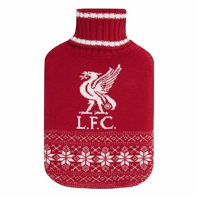 Liverpool FC Knitted Hot Water Bottle