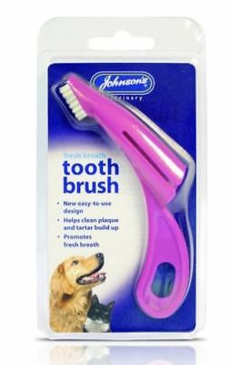 Johnson's Dog & Puppy Dental Oral Care Finger Tooth Brush Toothbrush