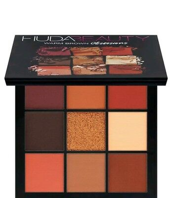 Huda Beauty Warm Brown Obsession Palette