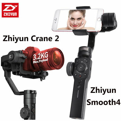 Zhiyun Smooth 4 Professional 3-Axis Handheld Gimbal Stabilizer for Smartphone S5