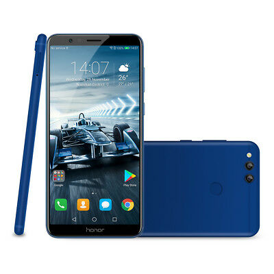 """64GO+4GO HUAWEI Honor 7X Smartphone 4G 5.93"""" 8Core 16MP Android 7.0 Téléphone FR"""