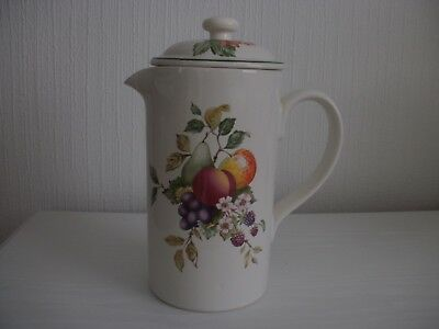 Johnson Bros. Fresh Fruit Design Cafetiere - In Excellent Condition.