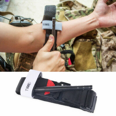 Tourniquet Military Red Tip Notfall Bandage Armbinde Outdoor Erste Hilfe Griff