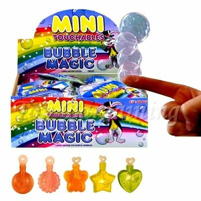 Mini Touchable Magic Bubbles Kids Birthday Party Bag Fillers