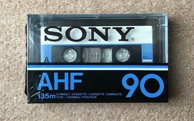 SONY AHF 90 cassette tape, Made in Japan, Year 1978
