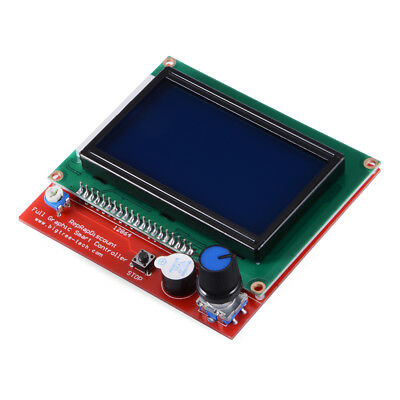12864 Display LCD 3D Printer Controller + Adapter + Cable for RAMPS 1.4 TE645
