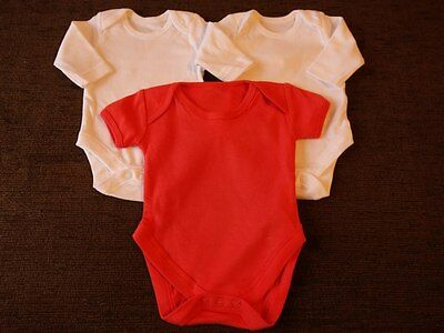 Girls 3 Pack Bodysuits Newborn Mothercare Tesco New out of Pack