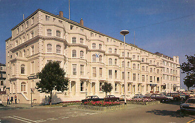 Carte ANGLETERRE EASTBOURNE Imperial Hotel Devonshire Place