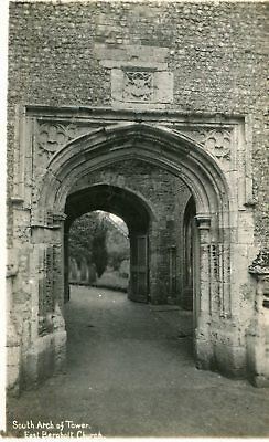 Carte ANGLETERRE EAST BERGHOLT Church South arch of tower